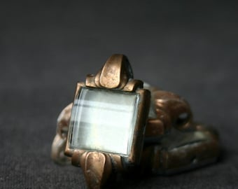 Very vintage watch parts.