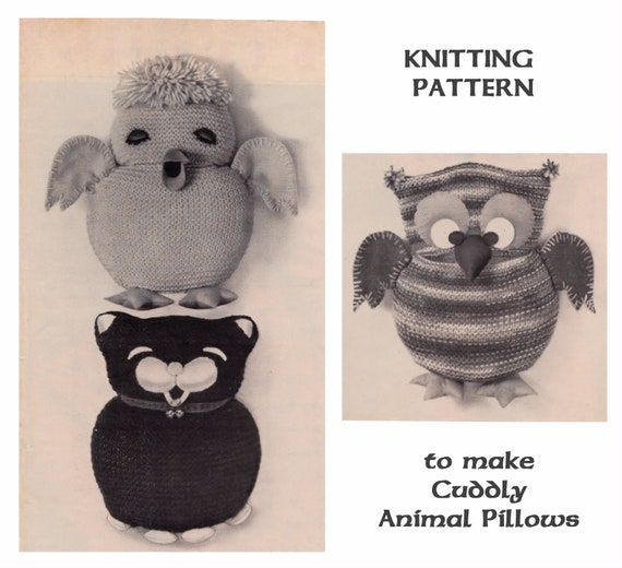 Instant Download PDF Easy Beginners Knitting Pattern to make