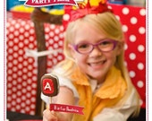 Junie B Jones Party Plan: A 60-Page eGuide to Planning Your Party INSTANT DOWNLOAD + 10% Off Party Supplies Coupon