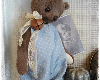 "PDF Instant Download - Pattern / E-Book Teddy Bear "" HANS "" :) - 10 Inch - by Eileen Seifert - Teddy-Manufaktur.de"