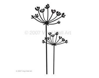 Trisha Plant Wall Decal SMALL