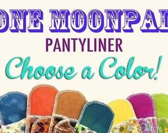 Organic Pantyliner Moonpads Cotton Cloth Pads - Choose a Color