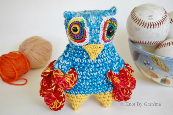 To the Sea Owl Monster Plush Collectible Doll