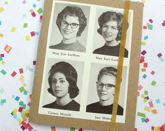 Little Book Vintage Yearbook Ladies