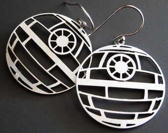 Death Star Earrings