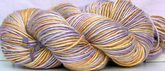 HandSpun Bamboo Yarn  Lavender Dreams 184 yards