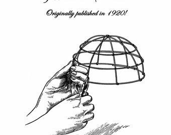 1920 Millinery Book Make Roaring 20s Flapper Making Wire Hat Blocks Frames Block Making Flapper DIY Milliner 1