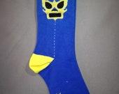 Luchador mens socks