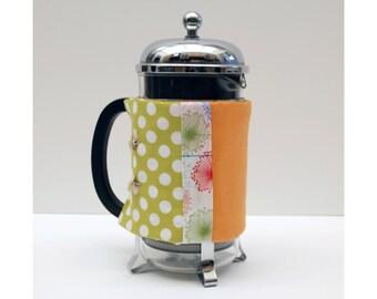 Bodum French Press Coffee Cozy - Green Spot Washi Style -