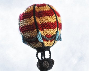 Crocheted Hot Air Balloon Pattern PDF