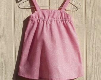 Pink Sundress Size 12 Months