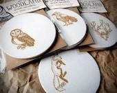 Woodland Creature - Pulp Coasters