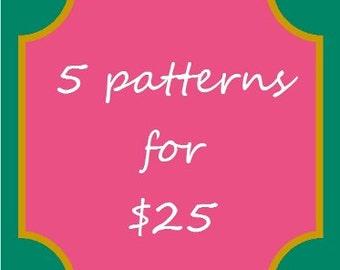 5 pattern combo