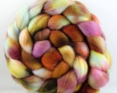ELEMENTAL Falkland wool roving 4.3 oz Free U.S. Shipping