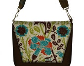 Digital SLR Camera Bag Dslr Camera Bag Purse Womens Camera Bag Case - Art Nouveau Floral - In Stock