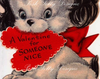 A Valentine For Somone Nice Greetings Card Printable Image (334)