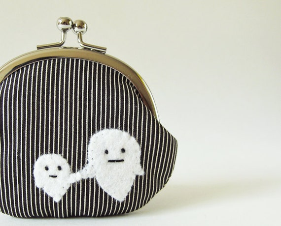 Coin purse Mommy & Me Ghosts