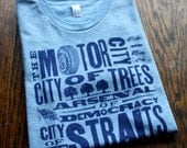 Detroit Nicknames T-Shirt (Sizes: XS,S,M,L,XL,2XL)
