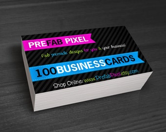 100 Business Cards - Printing Only