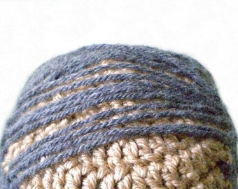 Combover Beanie - Make Your Own Comb Over Hairstyle with Skin and Hair Colors - Funny Customized Hats