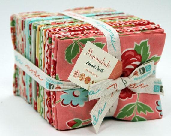 Marmalade Fat Quarter Bundle by Bonnie and Camille for Moda Fabrics, 40 fat quarters