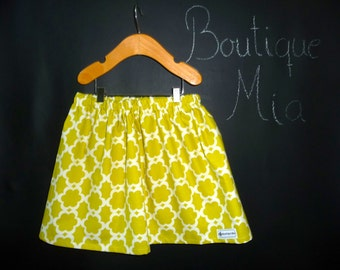 BUY 2 get 1 FREE - Skirt - Dena Fishbein - Tarika in Moss - Pick the size Newborn up to 14 Years by Boutique Mia