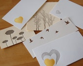 Letterpress seconds lot of 50 - great for scrapbooking, collaging and crafting