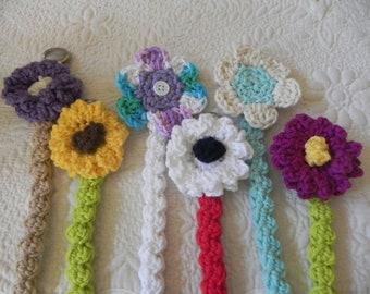 Paci Clips.....Crochet Cotton