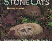 Stone Cats, painting on stones, other animals