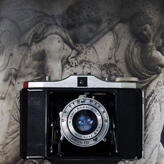 Vintage Camera Zeiss Nettar 1950 Vintage Folding Pocket Camera - A Useable Classic