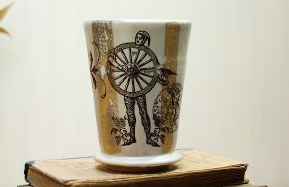 Pilnser Glass - Tumbler or Large Ceramic Cup - A Wheel Man