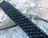 Hippie/Boho/Surfer Basic Macrame Hemp Bracelet/Anklet
