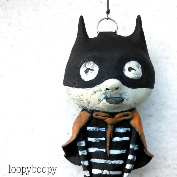 Halloween Decoration Ornament Masked Trick or Treater Super Hero