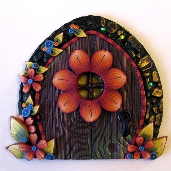 Flower Window Fairy Door