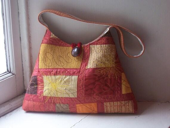 Pyramid bag - SUNBLOOM