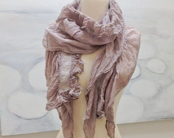 Mosha Cotton Nunofelt Summer Scarf