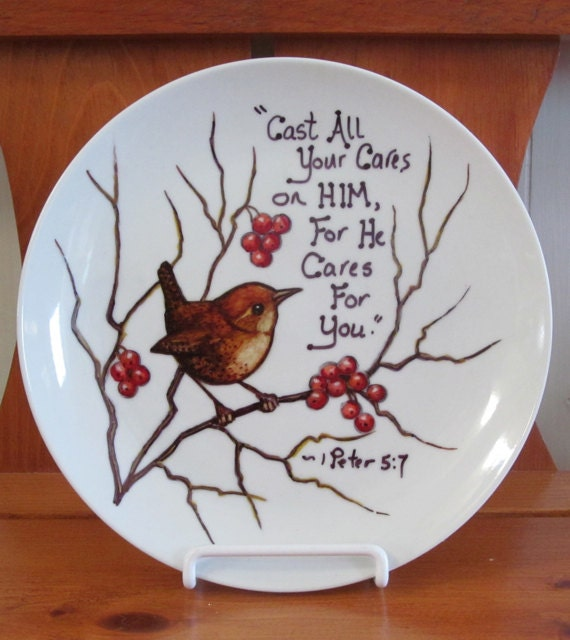 Items Similar To Plate Hand Painted With Sharpie Markers
