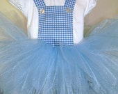 Dorothy...Wizard of Oz..Tutu Dress.24 months...ready to ship