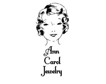 Beautiful Woman Head custom Rubber Stamp