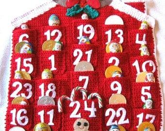 ADVENT CALENDAR Crochet Pattern Christmas Holidays PDF Instant Download