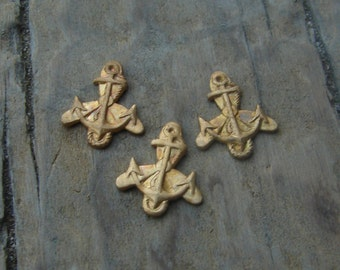 Vintage Brass WAVES Insignia Stamping. WWII US Navy Women Accepted for Volunteer Emergency Service. Military. One.