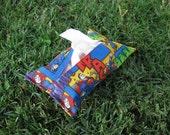 Superman Tissue Holder for Pocket or Purse