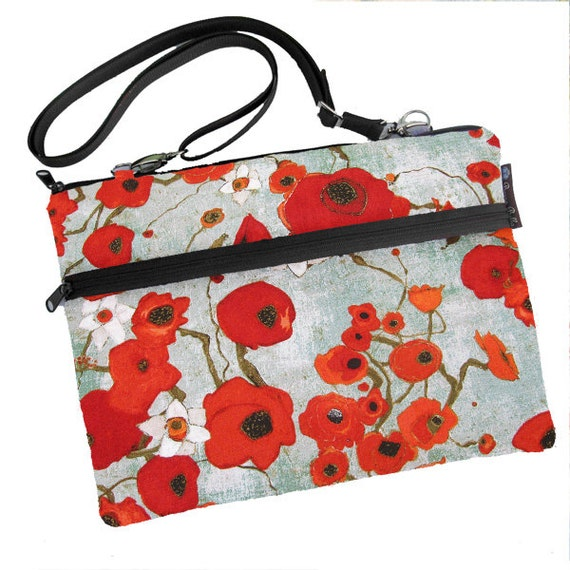 MacBook Air 13 inch sleeve / MacBook Pro 13 inch Case / Cover Padded FAST SHIPPING/Washable Poppy Love Fabric