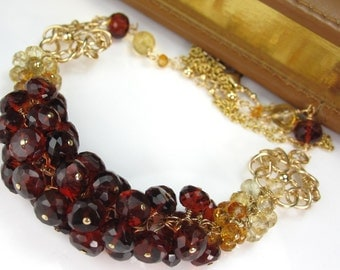 Golden River Necklace