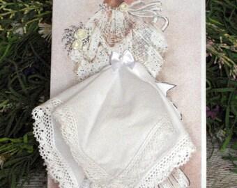 Bridal Hanky Card