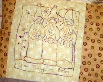 Christmas Three Wise Men Hand Embroidery PDF Pattern Instant Download