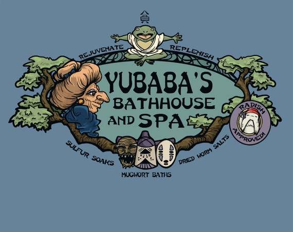 Yubaba Bathhouse Notecard (Item 05-057)