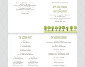 Tree Wedding Programs