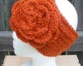 Mandara Headband in Pumpkin