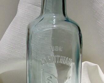 Antique Bottle (Aqua263)